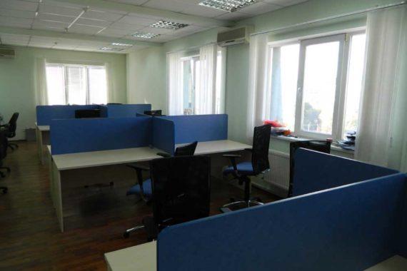 Мастер OPEN SPACE - письменные столы с боковыми и фронтальными экранами